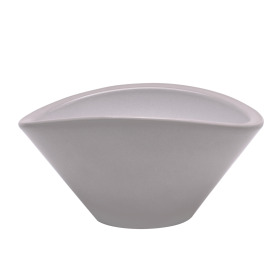 Bowl Noa 24x16xH12cm stone gray