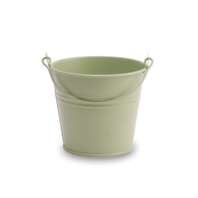 Zinc bucket Breeze ES12 Cyprus green matt