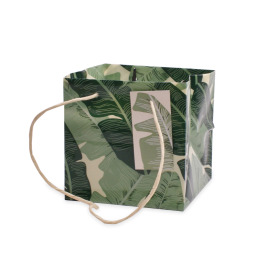 Carrybag Urban Jungle 16x16x16cm green