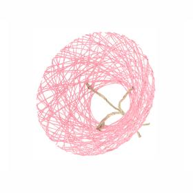 Boekethouder Paperweb Ø25cm roze