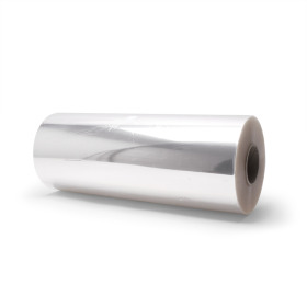 Foil on roll 75cm x 1000m BOPP20 transparent