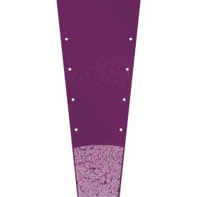 Plantsleeve Golden Century 31.4x12.5x6.2 in + Lg/Bd lilac