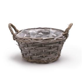 Basket Garden Feelings 26cm grey