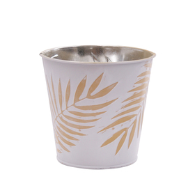Pot Zinc Urban Jungle 5 in ocher