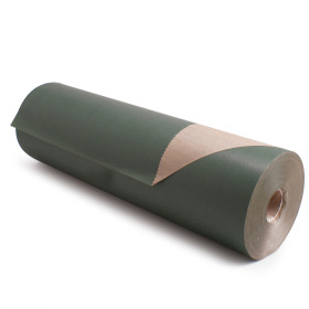 Kilo Brown Kraft 60cm/50g. on roll dark green p/kg