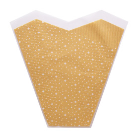 Sleeve Twinkle Stars 40x35x13cm natural