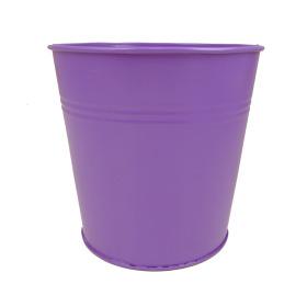 Tin Pot 6in purple