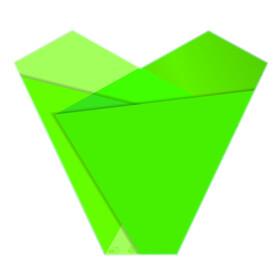 Sleeve Teagan 50x54x15cm green