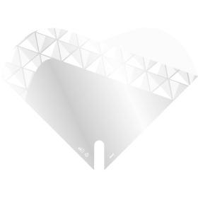 Sleeve Doublé Jewel 35x35cm white