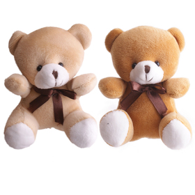 Bear Teddy 18x14cm assorted x2
