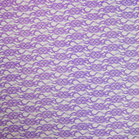 LACE LAVENDER 20X28 IN + HOLE