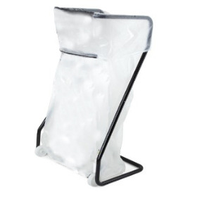 Plastic Collection bag 70+(2x13,5)x193cm 23µm 400 litre