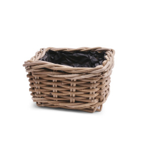 Basket rattan Cottage 20x20 H13cm