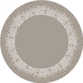 Sheet Horizon Ø75cm gray