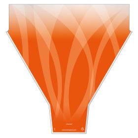 Sleeve Channel 54x44x12cm orange