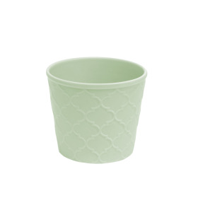 Ceramic Pot Harmony 4in olive matte