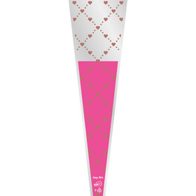 Hoes Single Rose Foxy Flirt 65x14x3cm roze
