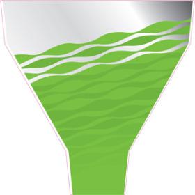 Serenity 20x21.5x5.5 in green