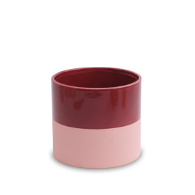 Ceramic Pot Soft Touch ES2.5 in Merlot