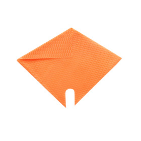 Sleeve Impress Wave 27x27cm orange