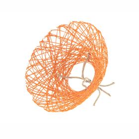 Bouquet holder Paperweb Ø25cm orange