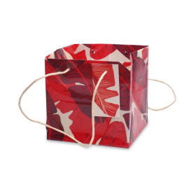 Carrybag Urban Jungle 16x16x16cm red