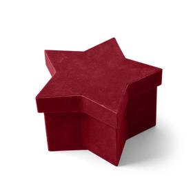 Hat box Noëlle 16x10.5x9cm rood