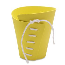 Potcover Eva Ø15xØ9x16cm yellow