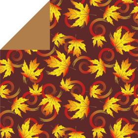 Papersheet Fall 70g. 40x40cm orange
