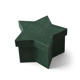 Hat box Noëlle 20,5x13x12cm groen
