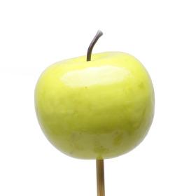 Fruit Apple 6cm on 50cm pick green