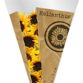 Sleeve Monoline Helianthus 60x45x15cm