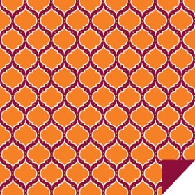 Casbah 24x24 in orange