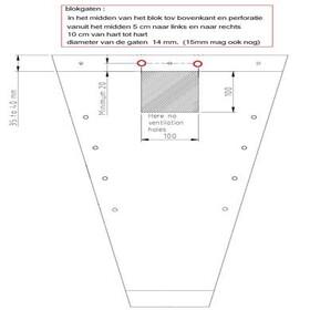 Sleeve V-Shape 50x25x10cm airholes  transparant