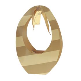 Cadeauverpakking Egg Bonbonnerie 27,5x14x42cm caramel