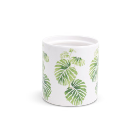 Ceramic Pot Deliciosa ES12 white