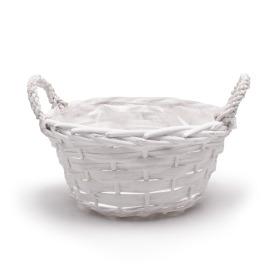 Basket Garden Feelings 26cm white