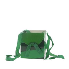 Draagtas Muse 16x16x18cm FSC Mix groen