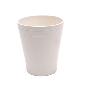 Ceramic Pot Quinn 4 in matte Cream