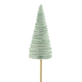 Tree Aurora 12cm on 50cm stick misty green