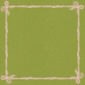 Raff 24x24in green