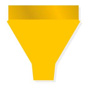 Duo Tones 20x14x4in yellow