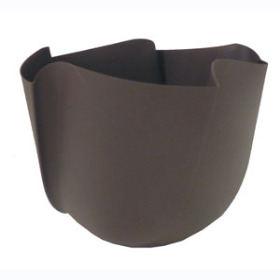 Twister Pot 5in gray