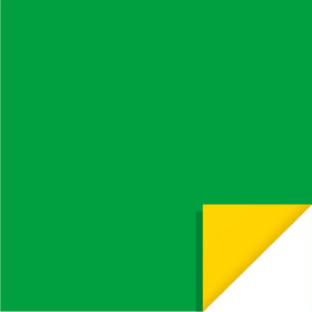 Bi-Color Sheet 24x24in green / yellow