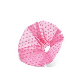 Boekethouder Send Love 25cm roze