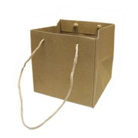 Carrybag Modena 11.5x11.5x11.5cm natural