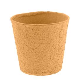 "Paper Pulp Pot Carta 6"" orange"