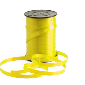 Curling ribbon 10mm x 250m yellow