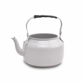 Zinc Teapot Misty Gray matt