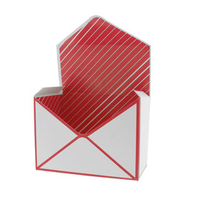 Envelope For You 18x9.5x13cm red